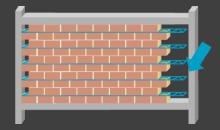 murs de remplissage