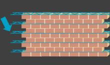 prévenir la fissuration des murs de grande longueur